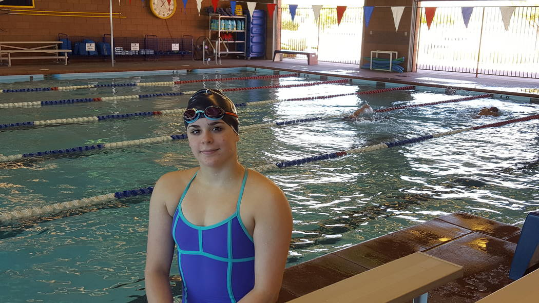 Legacy senior Joelle Beachler, who has severe hearing loss in both ears, finished seventh in ...