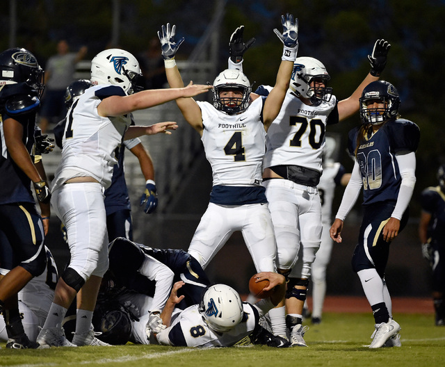 foothill league football games - 640×528