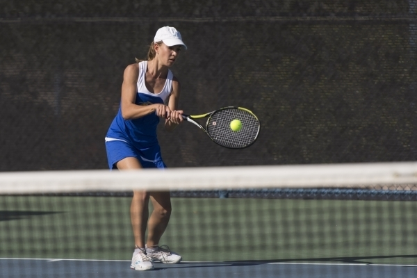 Andrada Stanciu won the Division I-A state title last year. (Jason Ogulnik/Las Vegas Review- ...