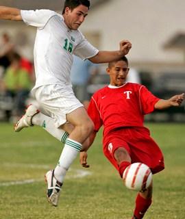 NP Aric Bonner Green Valley soccer Esteban Corona Tech 91708