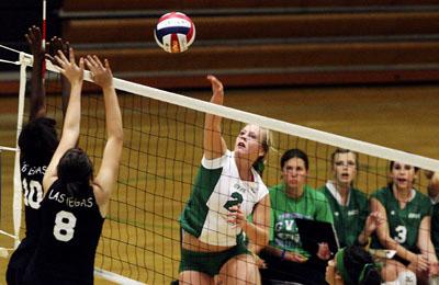 NP Megan Schiess Green Valley Breana Melton Kaycee Radar Las Vegas volleyball