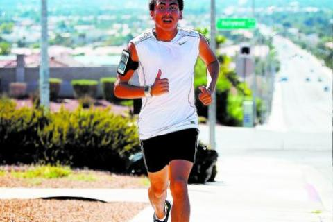 Eldorado cross country runner Eddie Esquivel was second at the Division I state meet last fa ...
