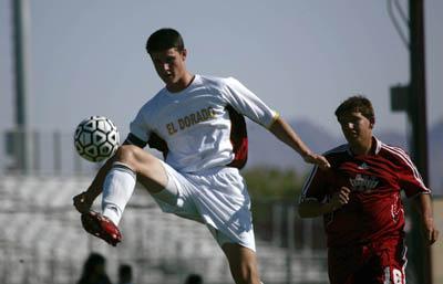 NP Josh Cormier Eldorado soccer 0903