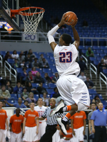 Bishop Gorman's Nick Blair is attracting attention after a strong AAU performance last ...