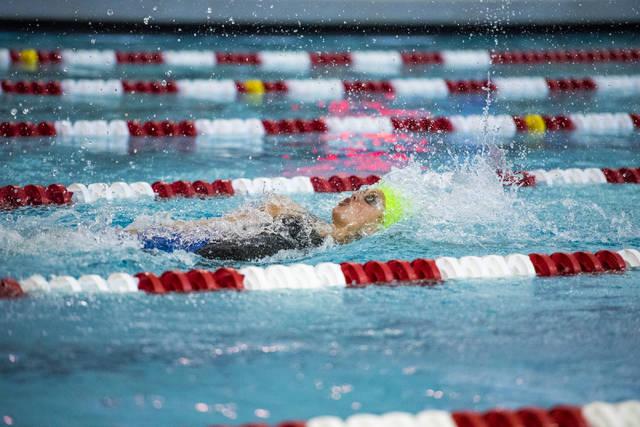 Abby Richter won two individual state titles last season. Joshua Dahl/Las Vegas Review-Journ ...