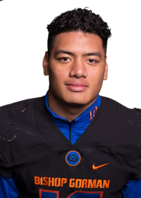 LB Palei Gaoteote, Bishop Gorman (6-2, 220): The junior led the Gaels with 68 tackles. He ha ...
