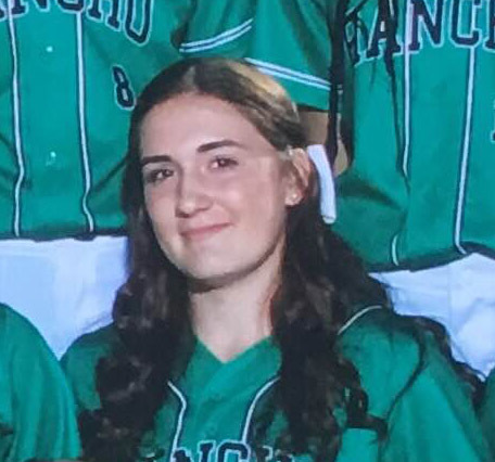 IF Gianna Carosone, Rancho: The sophomore infielder hit .522 with five homers, nine triples, ...