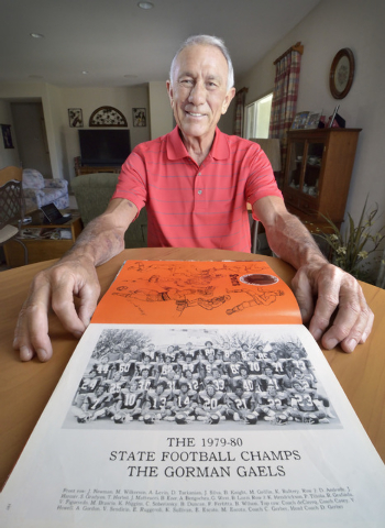 Dave Gerber is shown at his home in Sun City Anthem in Henderson on Thursday, Sept. 25, 2014 ...