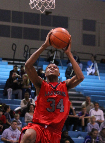 Las Vegas' Re'Kwon Smith is expected to trim his college list within the next mo ...