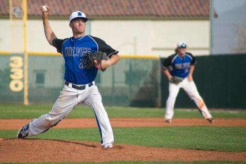 Basic pitcher Trent Bixby (26) throws the ball during the championship game of the Lions Kic ...