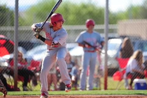 Arbor View shortstop Nick Quintana is seen during their prep baseball game against Shadow Ri ...