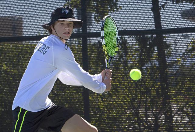 SUNSET TENNIS: Palo Verde boys, girls roll to region titles