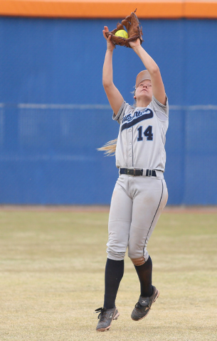 Centennial shortstop Heather Bowen earned the Review-Journal's state player of the yea ...