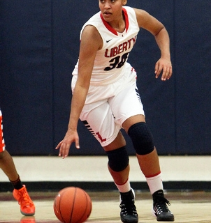 Liberty's Paris Strawther, a first-team all-state selection as a junior last season, m ...