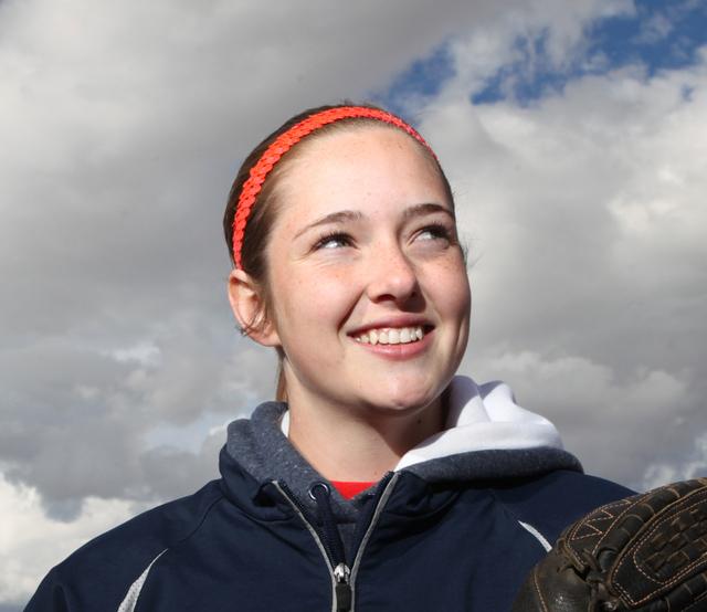 UT Sarah Pinkston, Coronado: The senior infielder/pitcher hit .528 with eight doubles and 33 ...