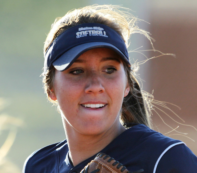 P Shelbi Denman, Shadow Ridge: The sophomore pitcher went 13-2 with a 2.02 ERA and 119 strik ...