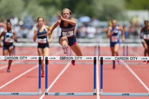 Centennial's Tiana Bonds sets a state record in the Division I girls 300-meter hurdles ...