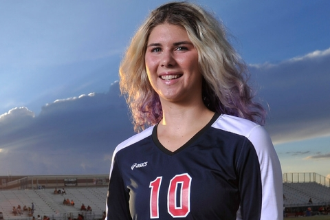 Coronado's Berkeley Oblad was named the All-Southern Nevada Most Valuable Player after ...