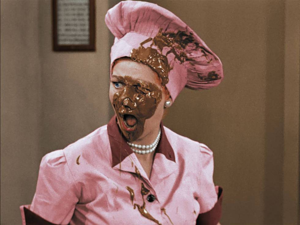 "Five episodes of ""I Love Lucy"" will be presented in color as part of ""I Lo ..."
