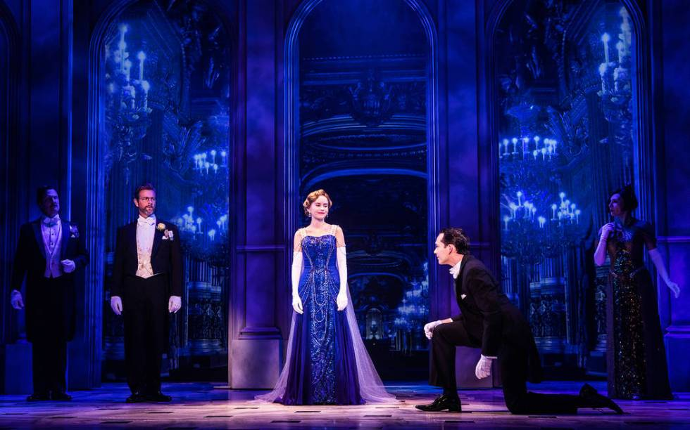 "The company of the national tour of ""Anastasia"" (Evan Zimmerman, MurphyMade)"