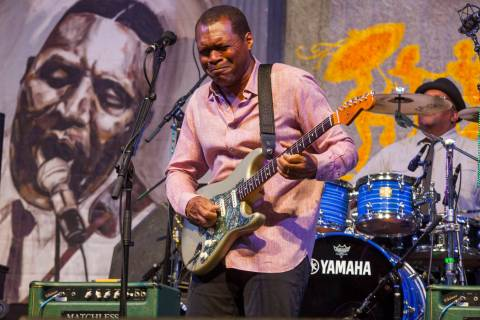 Robert Cray performs at the New Orleans Jazz & Heritage Festival, on Saturday, April 25, 20 ...