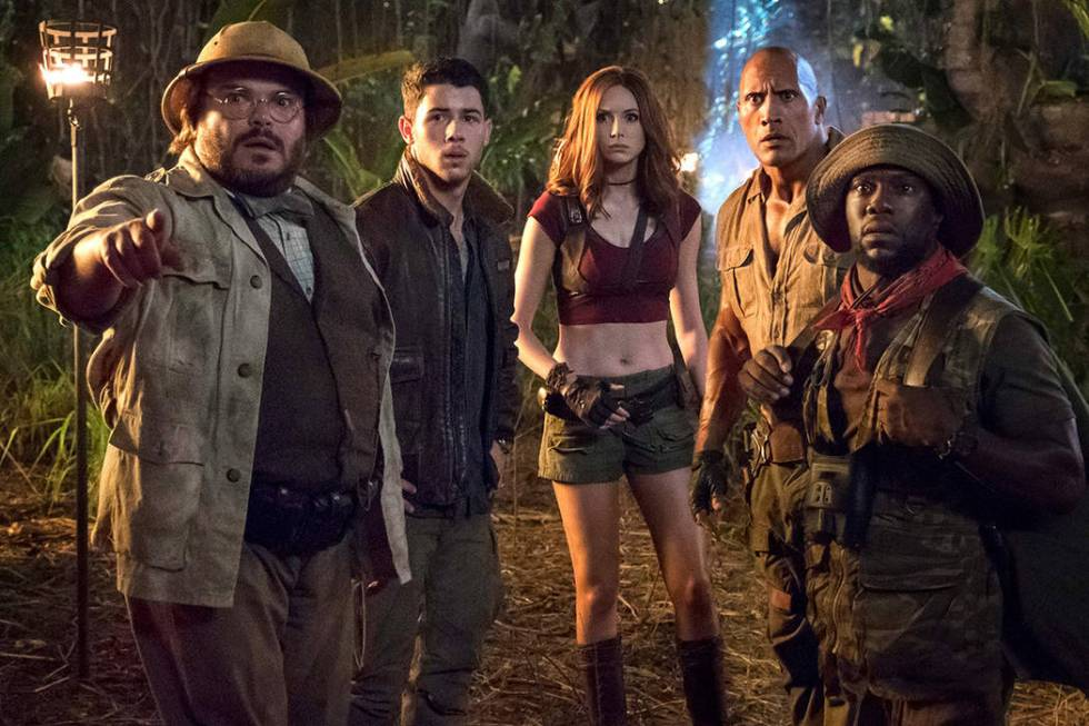 """Jumanji: Welcome to the Jungle."" (Sony Pictures Entertainment)"