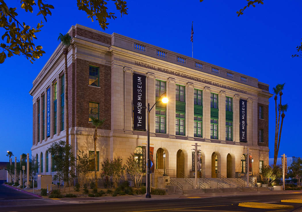 The Mob Museum is located downtown at 300 Stewart Ave. in the former federal courthouse and U.S ...