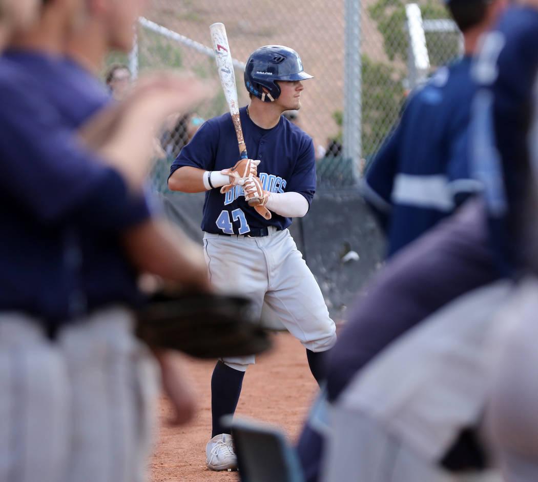 Centennial High School's Austin Kryszczuk, who played on the Mountain Ridge team during the 201 ...