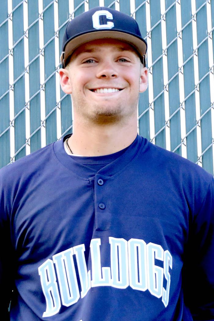 Centennial High School baseball player Austin Kryszczuk, who played on the Mountain Ridge team ...
