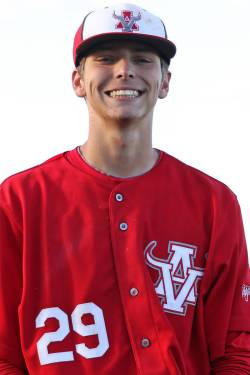 Arbor View baseball's Brennan Holligan, who was a part of the Mountain Ridge team that played i ...