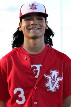 Arbor View baseball player Dominic Clayton, who played on Mountain Ridge's team in the 2014 Lit ...