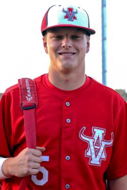 Arbor View baseball's Justin Hausner, who was on the Mountain Ridge team that played in the 201 ...