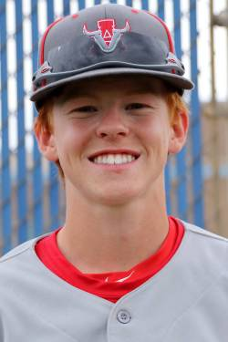 Arbor View baseball player Payton Brooks, who played for the Mountain Ridge team in the 2014 Li ...