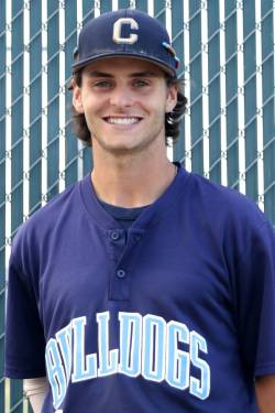 Centennial High School baseball player Zachary Hare, who played on the Mountain Ridge team in t ...