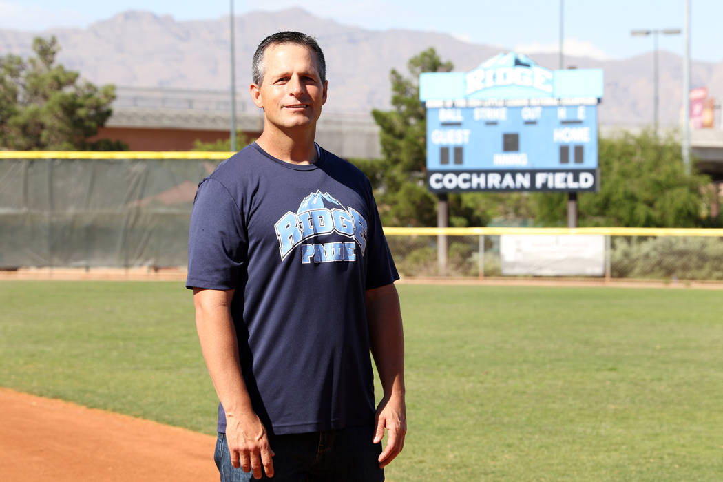 Ashton Cave, who managed the Mountain Ridge team that competed in the 2014 Little League World ...