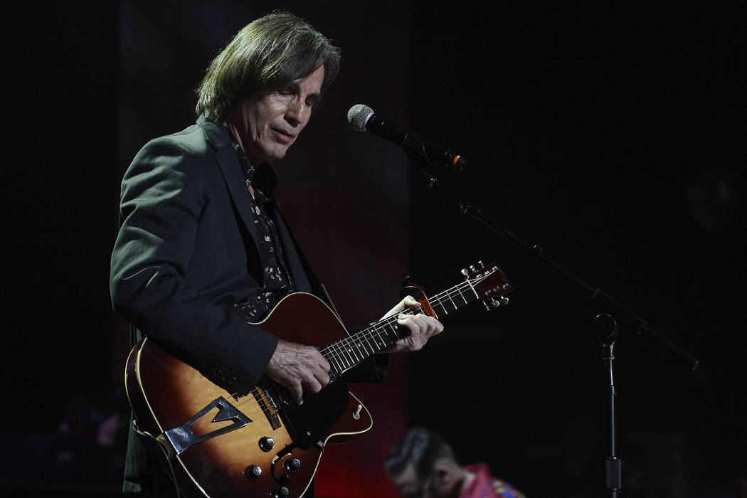 Jackson Browne performs during the Americana Music Honors and Awards show Wednesday, Sept. 17, ...
