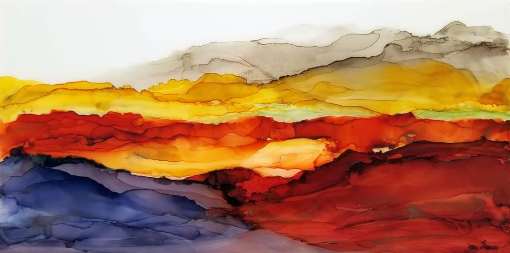 """""""Ginger Canyon"""" (Fara Thomas)"""