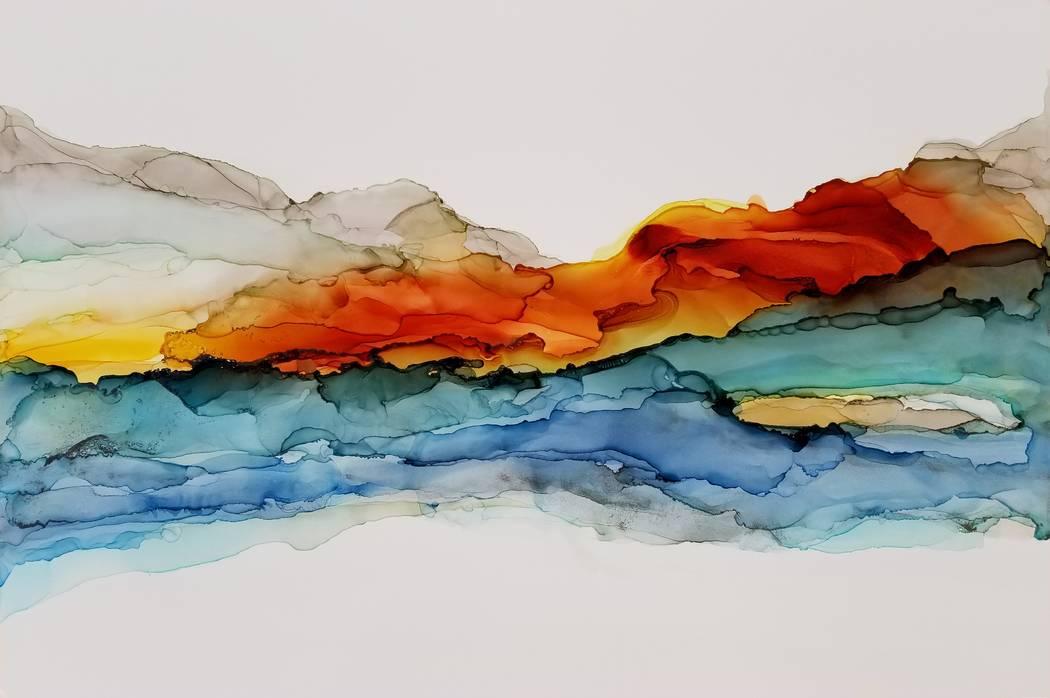 """Red Rock Sunrise"" (Fara Thomas)"
