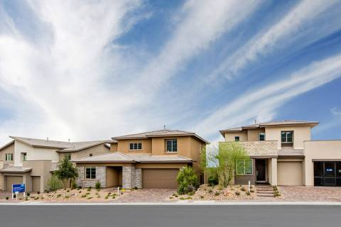 Graycliff by Lennar in Summerlin's newest neighborhood will debuts its models Aug. 3. (Summerlin)