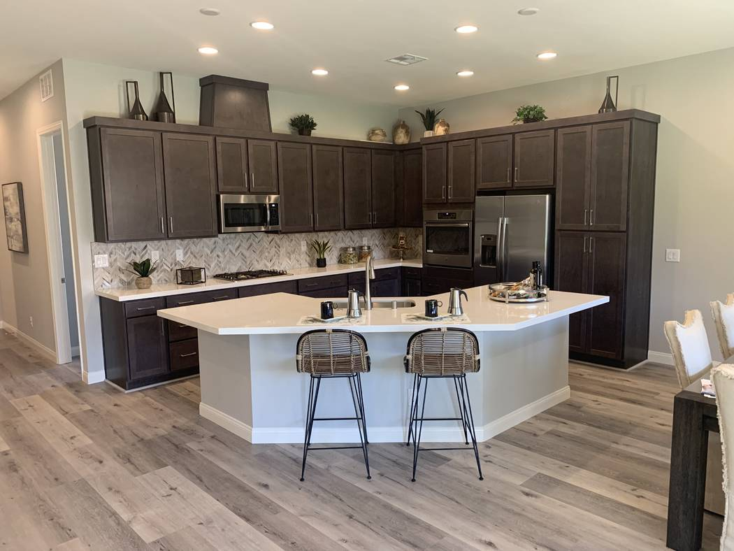 Summit Homes Shelbourne Estates neighborhood, by Summit Homes Nevada, in southern Las Vegas wi ...