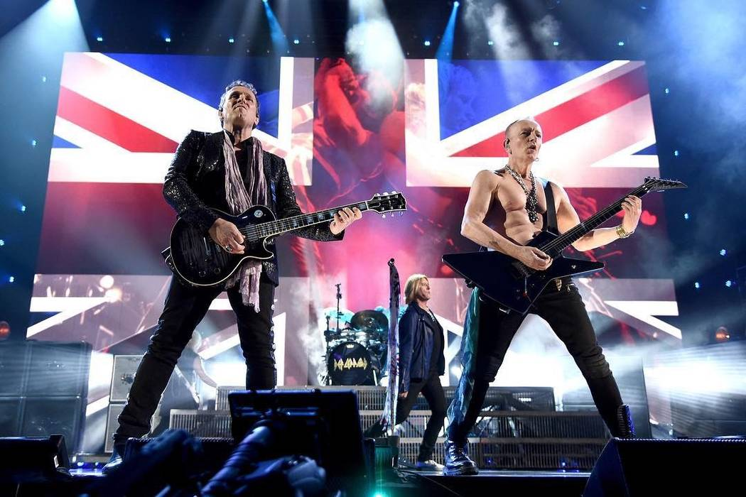 During previous Vegas residencies, Def Leppard have played some songs that they hadn't in over ...