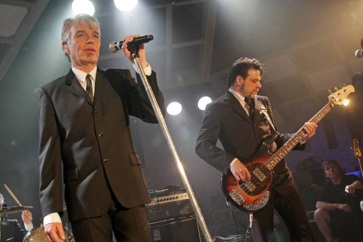 Actor and musician Billy Bob Thornton performs with his band the Boxmasters at the SXSW Music F ...