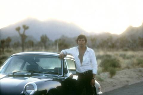Jay Sebring at Joshua Tree (DiMaria Family Archives)