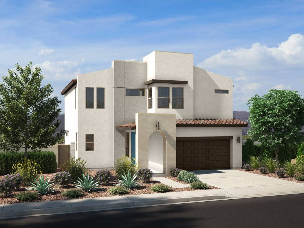 The grand opening is planned for Aug. 10 at Pardee Homes Cirrus neighborhood in southwest Las V ...