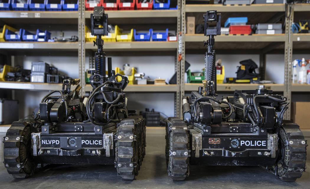 ICOR MK3 tactical robots at the Metropolitan Police Department's All-Hazard Regional Multi-agen ...