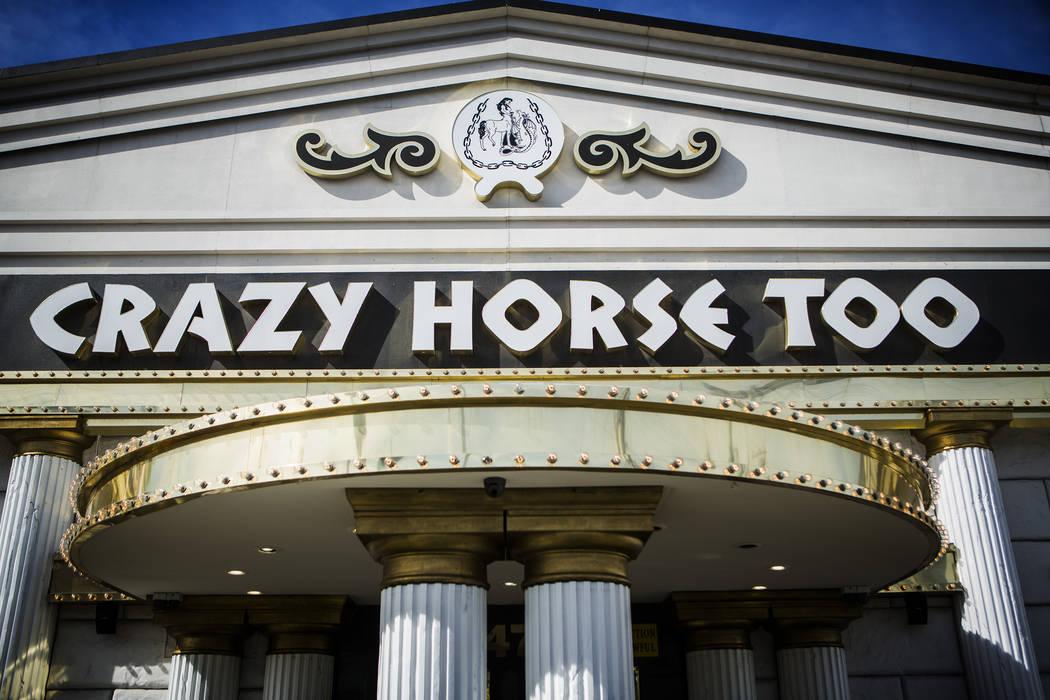 The Crazy Horse Too, 2476 S. Industrial Road, is seen on Wednesday, Feb. 12, 2014. (Jeff Scheid ...