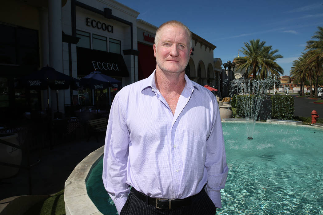 Businessman Mike Lathigee in Las Vegas, Friday, Aug. 2, 2019. (Erik Verduzco / Las Vegas Review ...