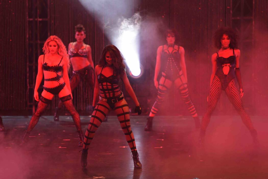 Opening night of Cherry Boom Boom at The Tropicana on Thursday, Sept. 29, 2016, in Las Vegas. ( ...