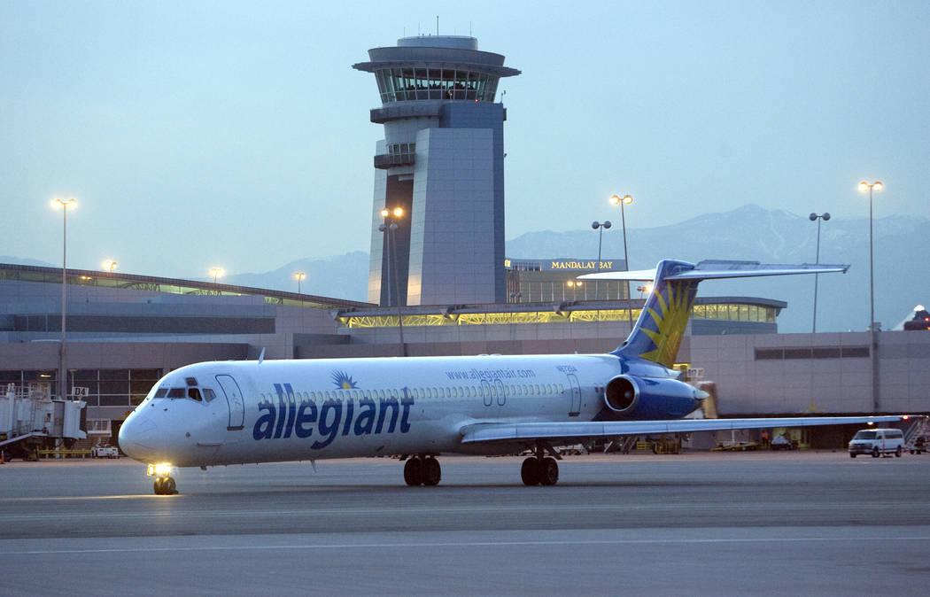 Allegiant Air continues its successful business model of offering low-cost, low-frequency fligh ...