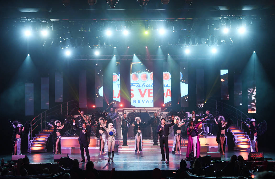 """The finale of """"Legends in Concert"""" at Tropicana Theater. Frank Marino joins the cast on Sept. 1 ..."""